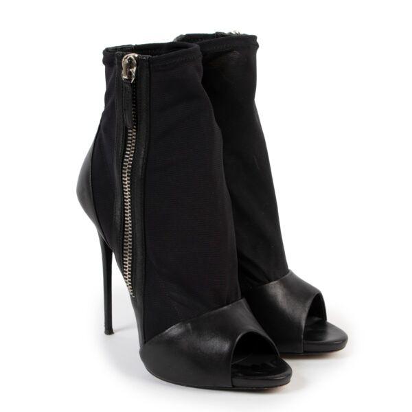 Guiseppe Zanotti Black Heels - Size 40