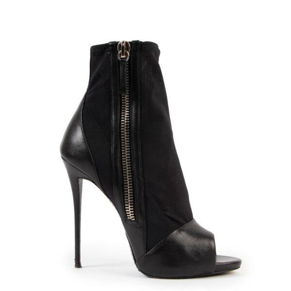 Black Guiseppe Zanotti heels