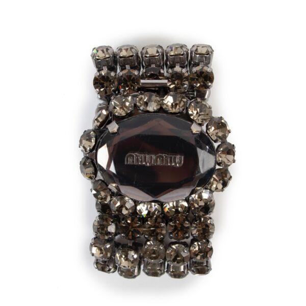Buy an authentic second hand Miu Miu fantasy diamonds bracelet at Labellov