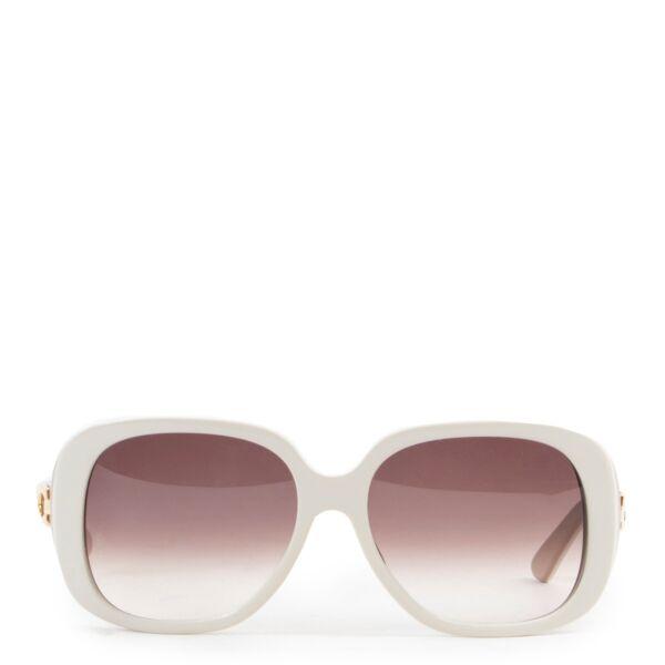 Cartier White Sunglasses