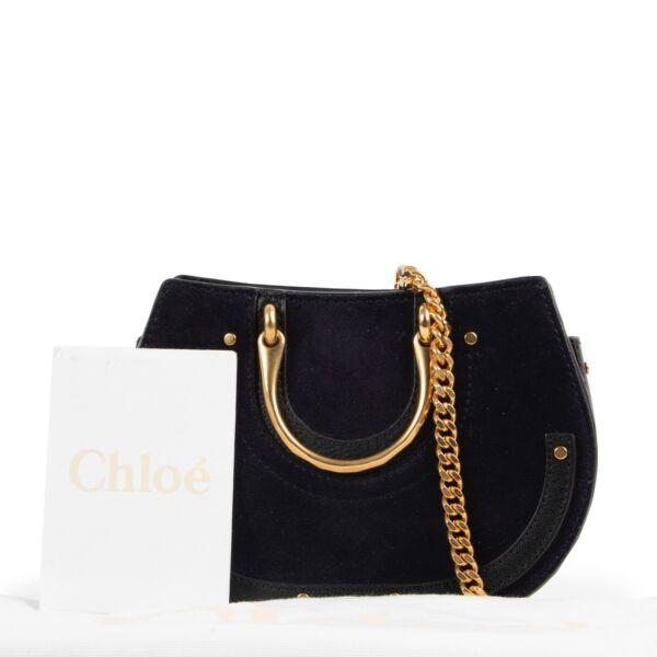 Chloé Black Suede Crossbody Bag