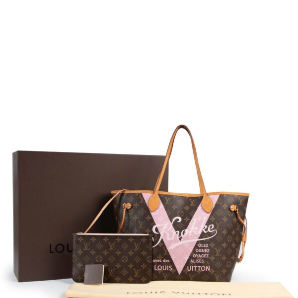 Louis Vuitton Monogram Limited Edition 'Knokke' Neverfull Bag