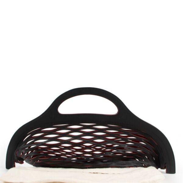 Delvaux Black Kaisin Basket Top Handle