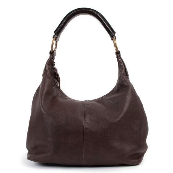 shop safe online Miu Miu Brown Hobo Shoulder bag