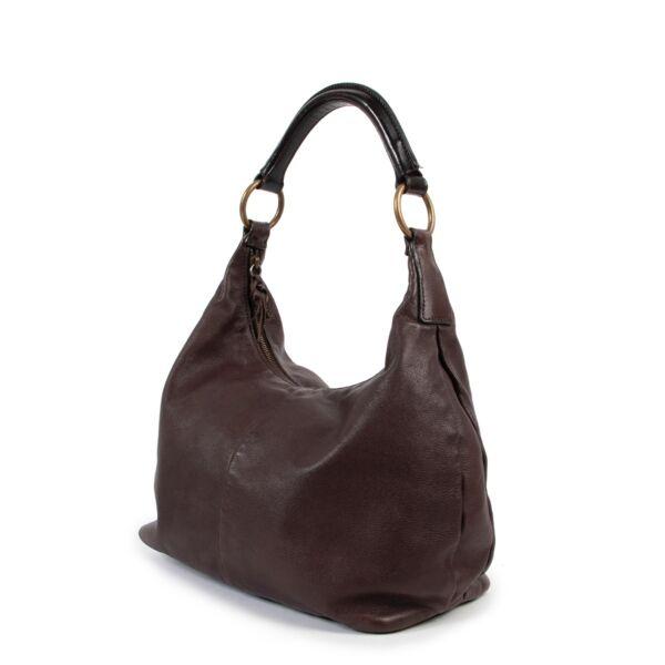 Miu Miu Brown Hobo Shoulder bag