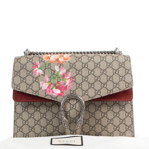 Gucci Floral Monogram Dionysus Shoulder Bag