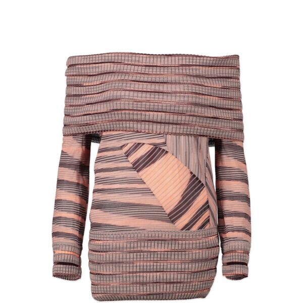 Missoni Multicolor Off-Shoulder Sweater - IT38 acheter en ligne seconde main