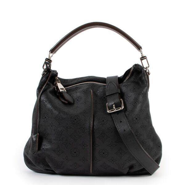 Louis Vuitton Black Selene PM Mahina
