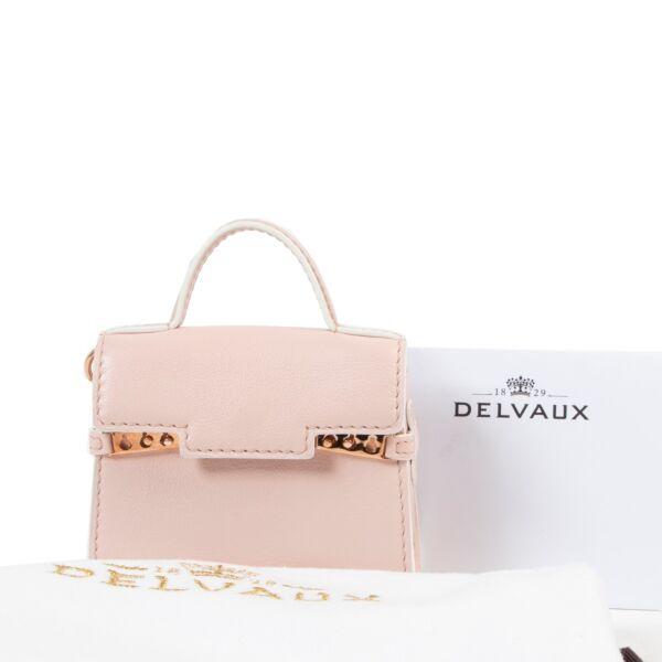 Delvaux Nude Tempête Bag Charm