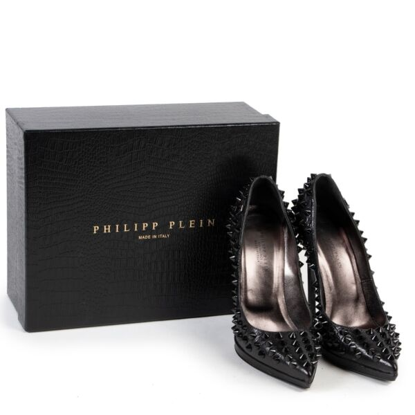 Philipp Plein Limited Edition Black Studded Pumps - size 38
