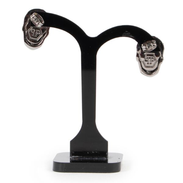 Philipp Plein Limited Edition Black Earrings