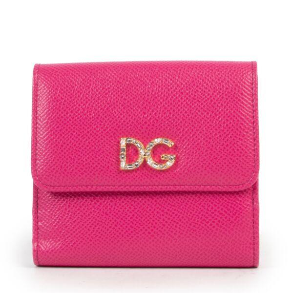 Dolce & Gabbana Pink Wallet