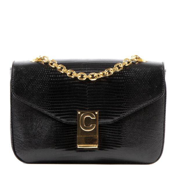 Koop en verkoop veilig en makkelijk uw authentieke designer Celine C Black Medium Matelasse Bag