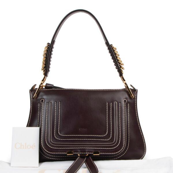 Chloé Aubergine Marcie Bag