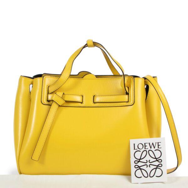 Loewe Yellow Lazo Cross-body Bag