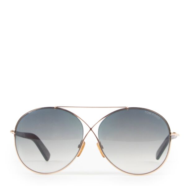 Buy authentic second hand Tom Ford Butterfly Shaped Glasses at Labellov