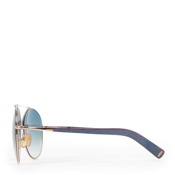 Tom Ford Blue Sunglasses