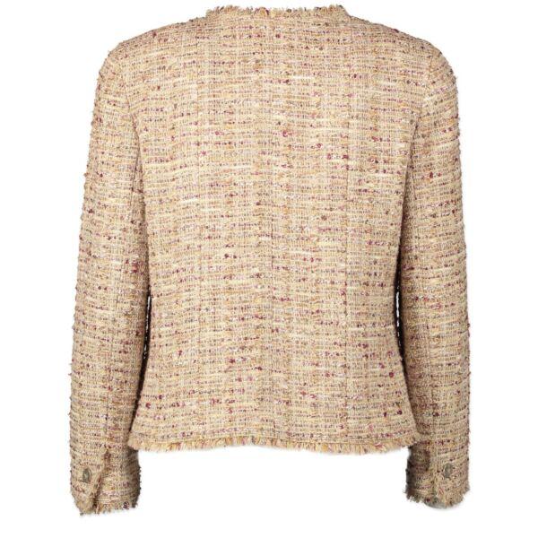 Chanel Tweed Jacket - size 40