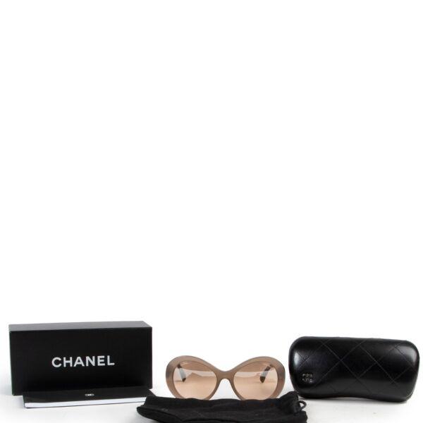 Chanel Beige Sunglasses