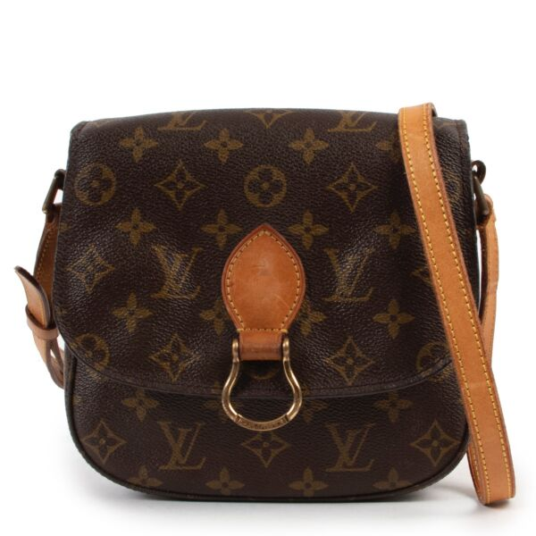 Shop safe online 100% authentic second hand Louis Vuitton Monogram Saint Cloud Crossbody Bag in very good condition at the right price at labellov in Antwerp.