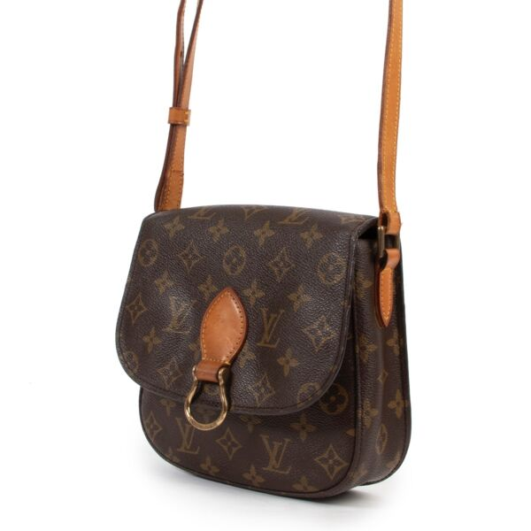 Louis Vuitton Monogram Saint Cloud Crossbody Bag