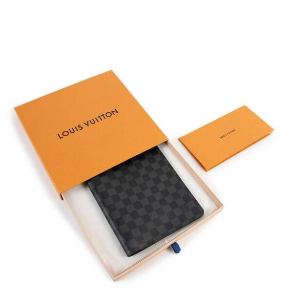Louis Vuitton Damier Graphite Canvas Desk Agenda Cover