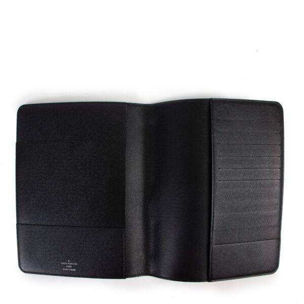 Louis Vuitton Black Damier Graphite Desk Cover