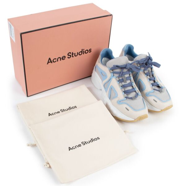 Acne Studios Blue Lace-up Sneakers - Size 41