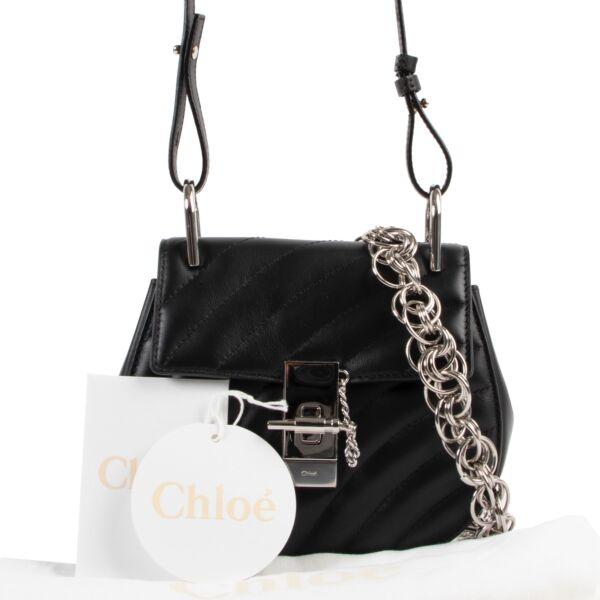 Chloé Black Drew Bijoux Crossbody