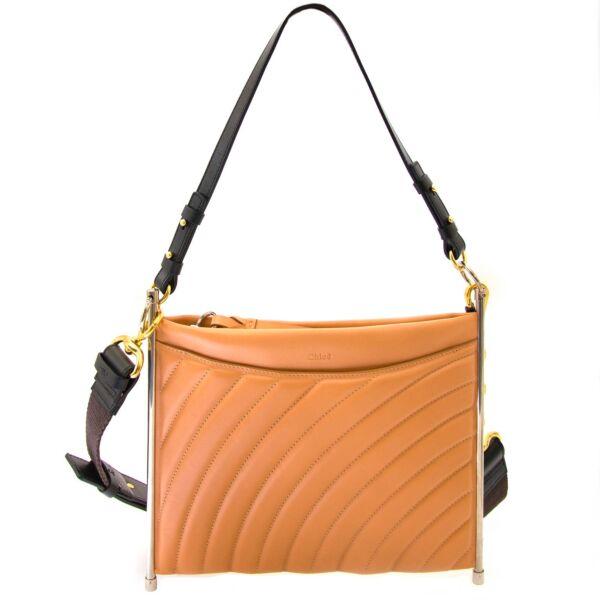Buy authentic chloé blushy pink shoulder bag at labellov vintage fashion webshop belgium