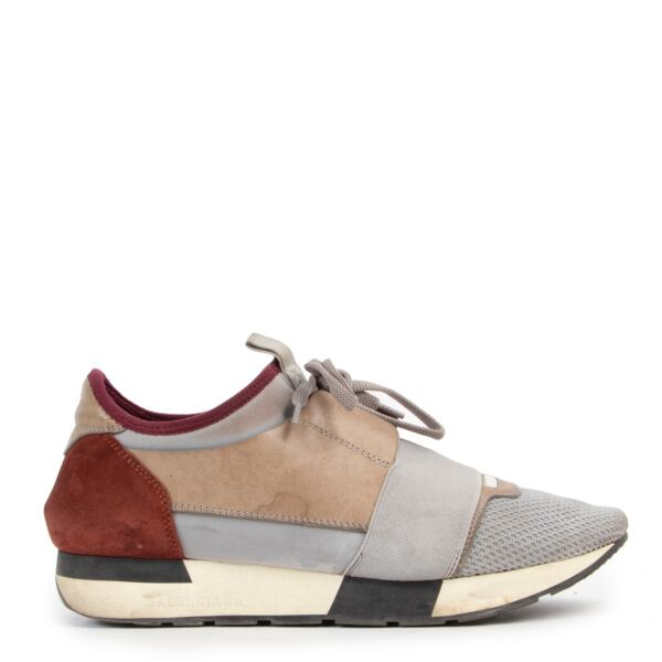 Shop safe online 100% authentic second hand Balenciaga Multicolor Sneakers - Size 38 at Labellov in Antwerp.