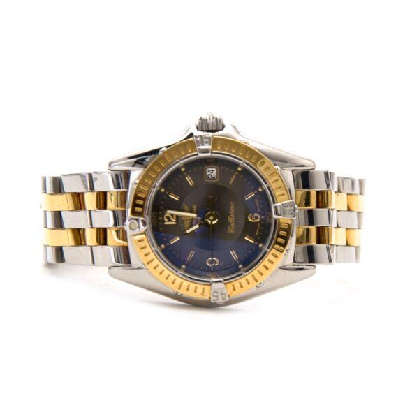 Breitling Lady Callistino Full Steel/Gold Anthracite Dial kopen en verkopen aan de allerbeste prijs