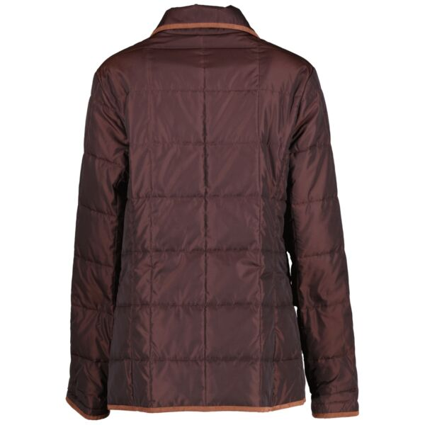 Burberry London Brown Quilted Jacket - Size 42