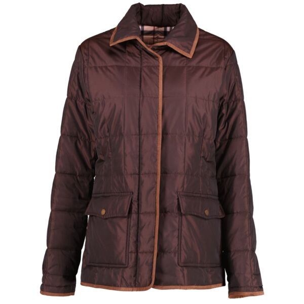 shop second hand authentic Burberry London Brown Quilted Jacket at Labellov for the best price