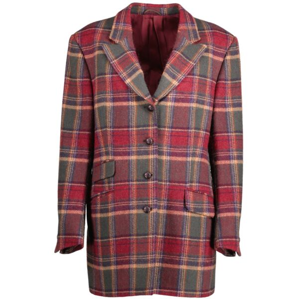 Burberry Kelly Check Coat/ Blazer - size 38