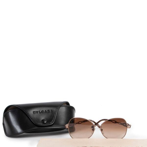 Bulgari Brown Sunglasses