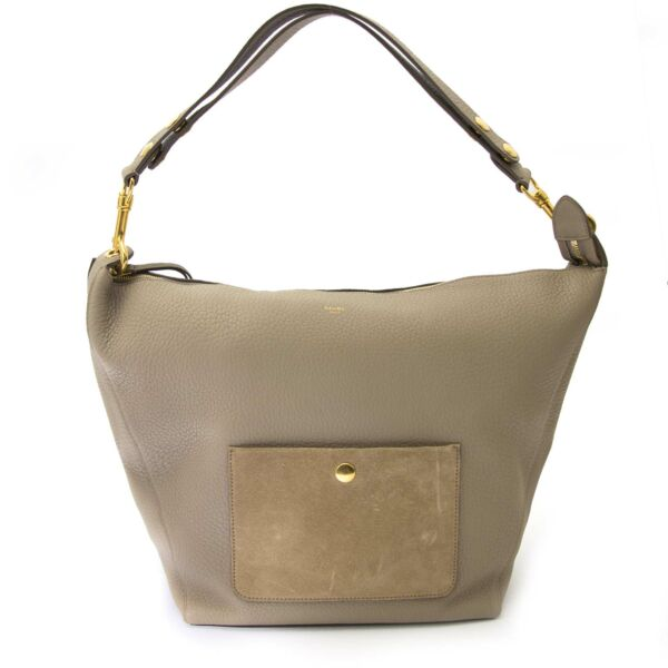 shop safe online your secondhand Chloe Taupe Medium Zipped Hobo