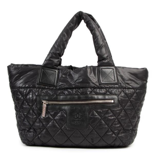 Authentieke Tweedehands Chanel Black Quilted Cocoon Bag juiste prijs veilig online shoppen luxe merken webshop winkelen Antwerpen België mode fashion