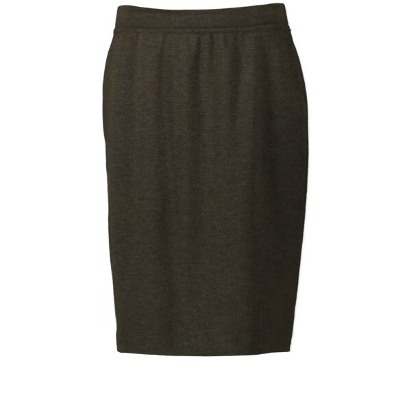 Buy Chanel Kaki Green Skirt at the right price safe and secure online LabelLOV luxury brand webshop Antwerp Belgium