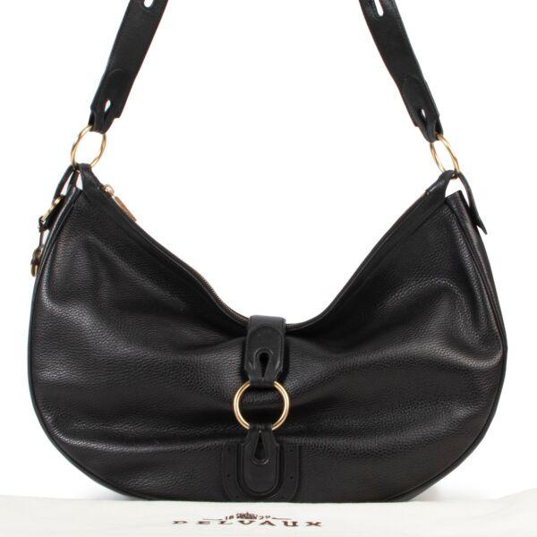 Delvaux Black Camille Shoulder Bag