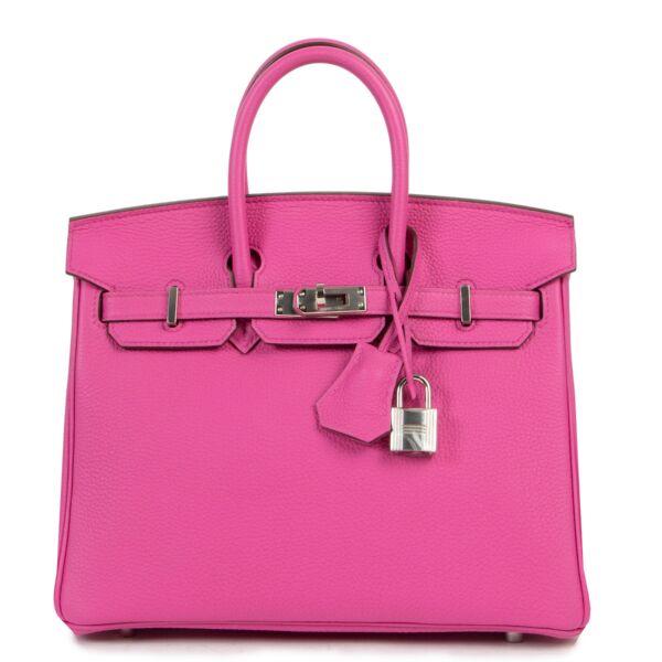 Hermès Birkin 25 Magnolia Togo PHW