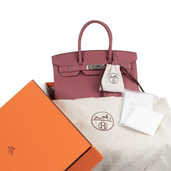 Hermès Birkin 30 Clemence Taurillon Bois de Rose PHW