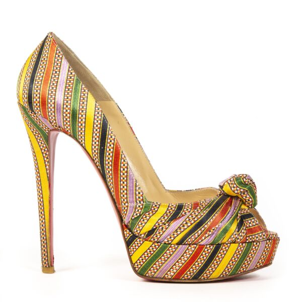 Buy and sell 100% authentic Christian Louboutin Multicolor Platform Heels