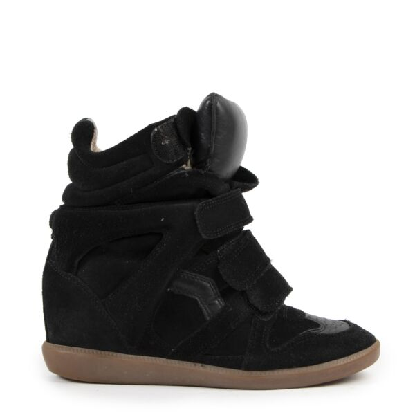 Isabel Marant Bekett Wedge Sneakers for the best price at Labellov secondhand luxury