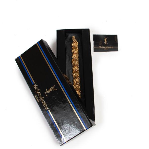Yves Saint Laurent Gold Bracelet