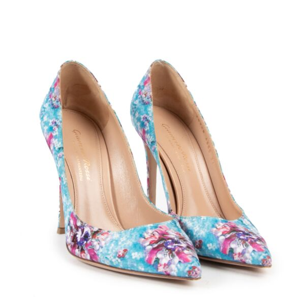 Gianvitto Rossi Floral Pumps - size 37