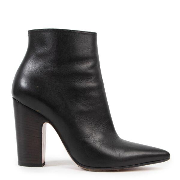 Maison Martin Margiela Black Ankle Boots - size 37