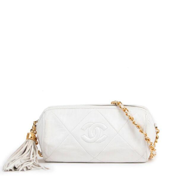 Chanel White Crossbody