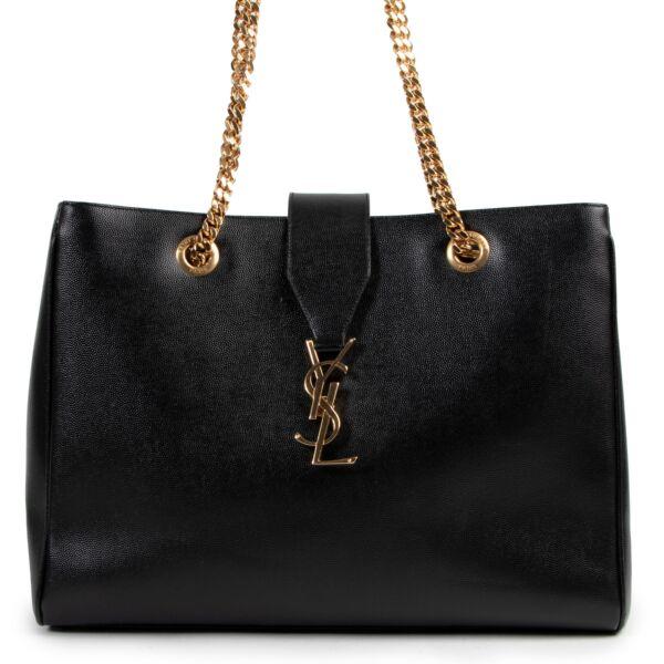 100% authentic Saint Laurent Black Shoulder Bag for the best price