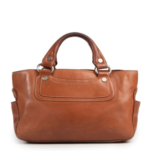 Celine Brown Top handle Boogie Bag